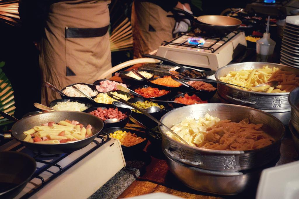 Ilha Gastronômica: tendência de buffet para formaturas 2